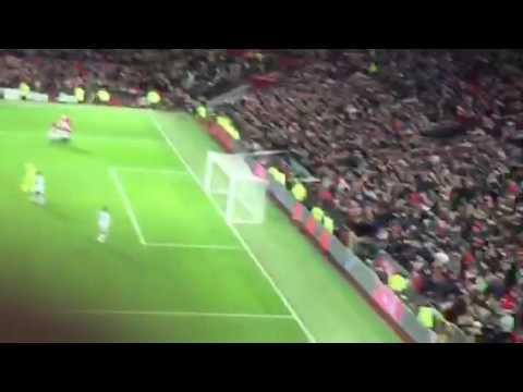 Henrikh Mkhitaryan goal vs Sunderland fan view