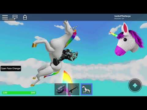 Robot Unicorn Attack Roblox Mix
