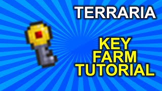 Terraria Key Farm 1.3+ TUTORIAL - UPDATED! (Demize's Design)