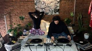 House & Detroit Techno vinyl mix by Sol Ortega & E110101