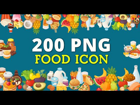 FOODS ICON - PNG FREE DOWNLOAD