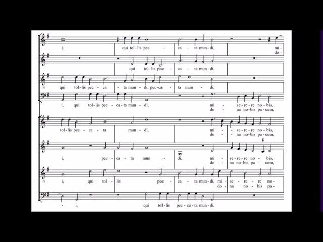 Lassus: Agnus Dei (Missa Bel'Amfitrit)