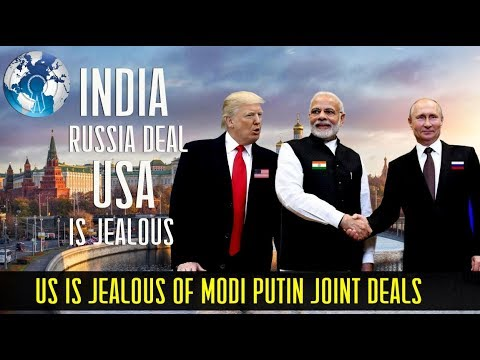 US is Jealous of MODI PUTIN Hosting BIGGEST Economic Summit