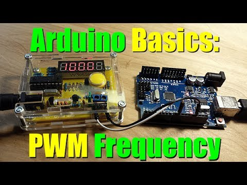 Arduino Basics Change Your PWM Frequency