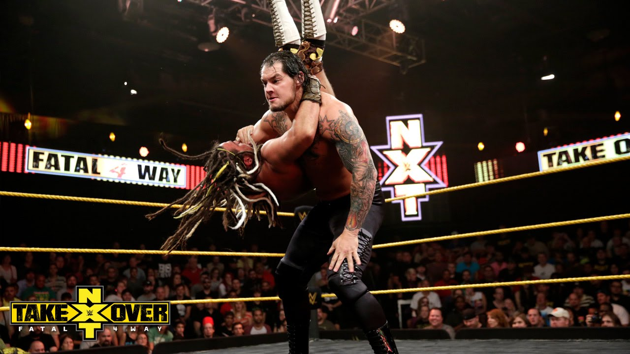 Baron Corbin vs. CJ Parker: NXT TakeOver: Fatal 4-Way, Sept. 11, 2014 - YouTube