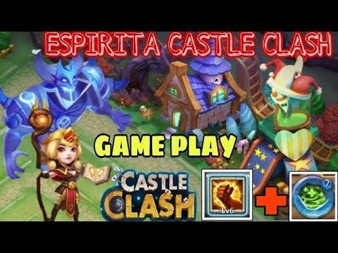 Espirita Castle Clash Talent Brute Force & Regenerate