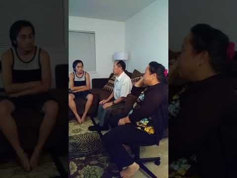 My parents telling my cousin's husband about P-Nyu-Y in Laos