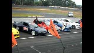 Apresentação dos Carros e dos Pilotos no 1º Campeonato Paulista de Drift em Piracicaba