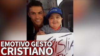 بالفيديو: رونالدو يقوم بلفتة إنسانية ويوقف حافلة المنتخب من أجل طفل صغير