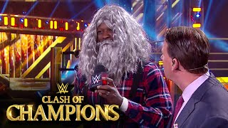 R-Truth gets ready for the Gold Rush: WWE Clash of Champions Kickoff Show (WWE Network Exclusive)