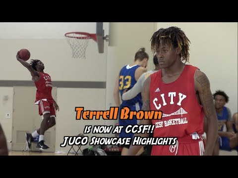 Terrell Brown is Now at City College of San Francisco!! Norcal JUCO Jamboree Highlights