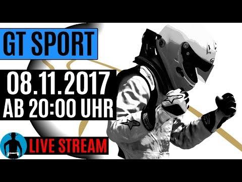 LIVE am 08.11.2017 ab 20:00 Uhr: Gran Turismo Sport Gameplay [deutsch] [PS4]