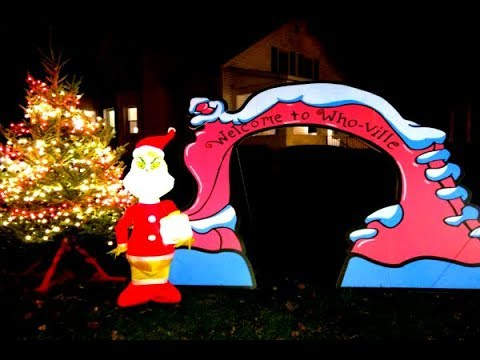 Real-Life 'Whoville' Christmas Town In Upstate New York