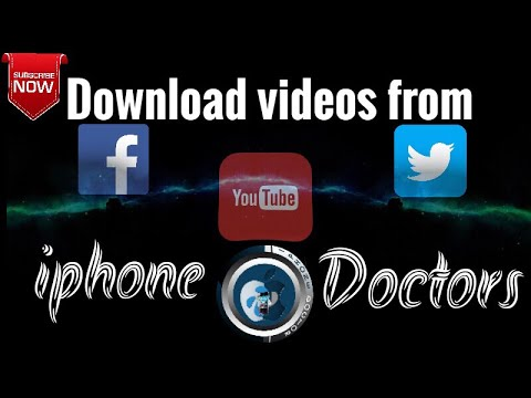 How to Download videos from facebook youtube and twitter
