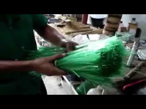 Business idea; How to make a broom from plastic bottles.