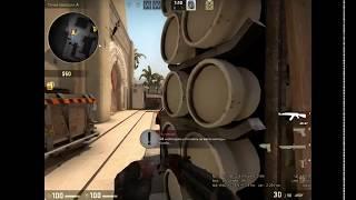 CS GO 2018 DogKiller игра с ботами на Мираже