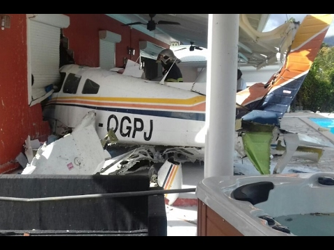 Piper PA-28-161 Warrior II - F-OGPJ - Crash Petit-Bourg - Guadeloupe