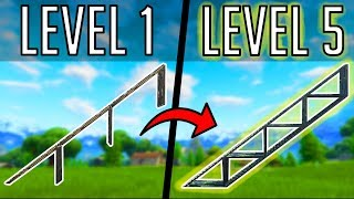 The 5 LEVELS of RAMP RUSHING in FORTNITE BR! (How to Get Better at Fortnite)