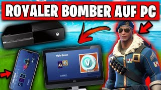 EXCLUSIVE Royale Bomber Skin for PC 🎁 | Fortnite PS4 German German