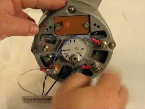 How To Wire a Silver Sticker 7KPTsilver Alternator for Stairmaster Fitness Equipment  YouTube