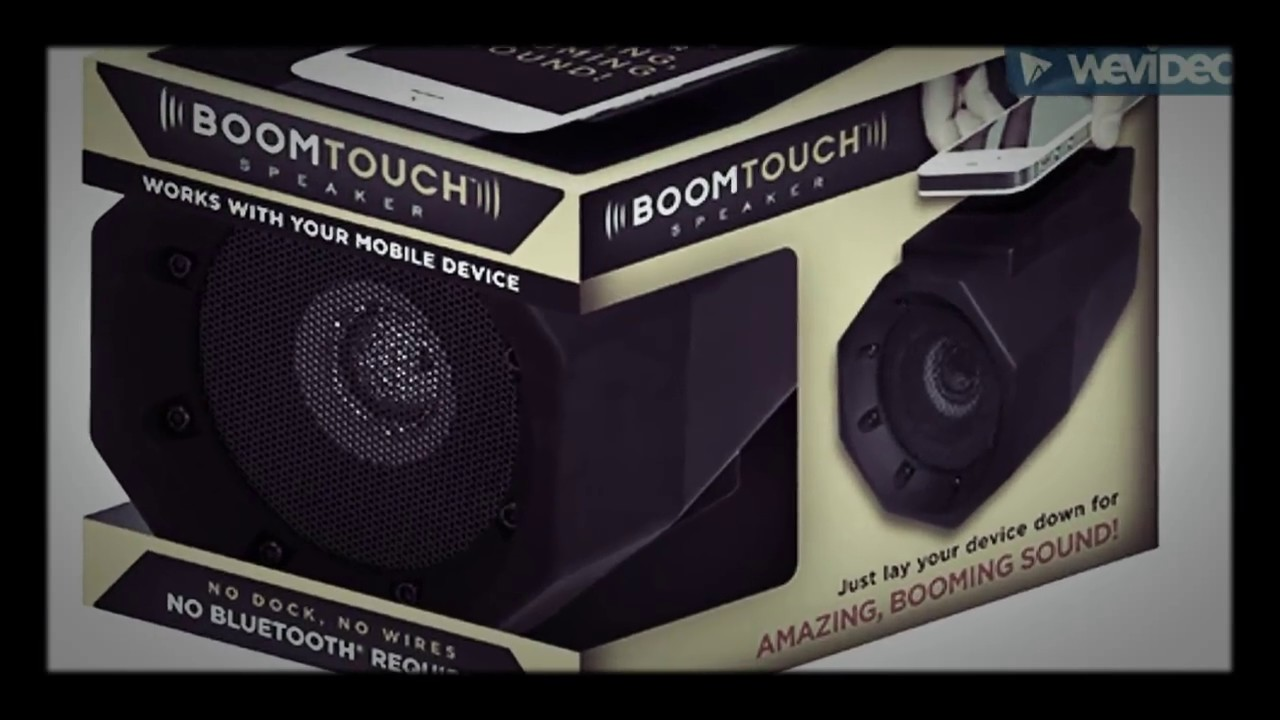 Product review of Boom touch speaker