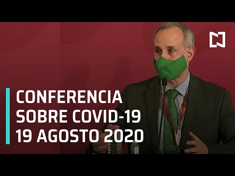 Conferencia Covid-19 en México - 19 agosto 2020