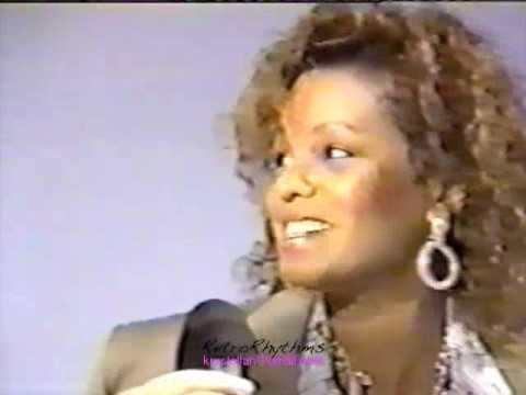 Rebbie Jackson and her children - 1988 interview