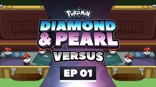 Pokemon Diamond and Pearl Versus - EP01 | Not A Slow Start!