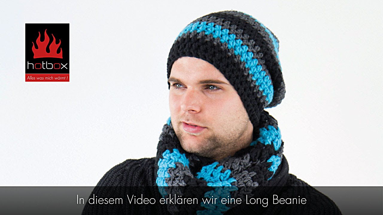 Hotbox Long Beanie Fallhaube Türkis Youtube