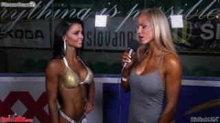 Saskia Cakoci vs PRO ucastnicky Diamond Cup Zilina