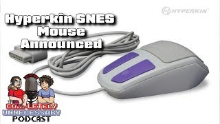 SNES Mouse Released by Hyperkin - #CUPodcast