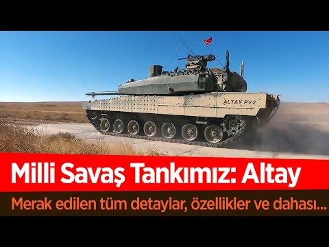 Milli Savaş Tankımız Altay Hakkında Tüm Merak Edilenler!