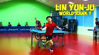 I played against World no.7 Lin Yun-Ju