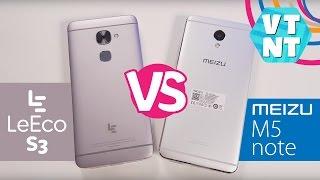 Meizu M5 Note vs Le Eco S3 X522 какой смартфон купить?