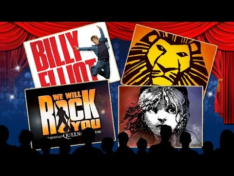 London Theatres Musicals and Live Shows 2016 West End