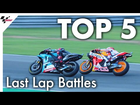 Top 5 last lap battles in 2019