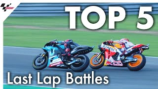 Top 5 last lap battles in 2019