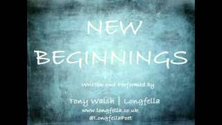 New Beginnings: A poem of welcome and inspiration.