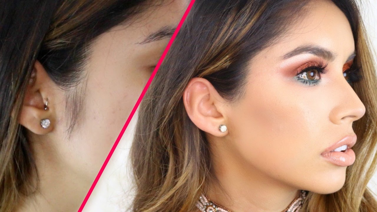 remove female sideburns