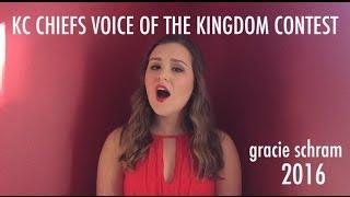 Chiefs Anthem Contest 2016 - Gracie Schram