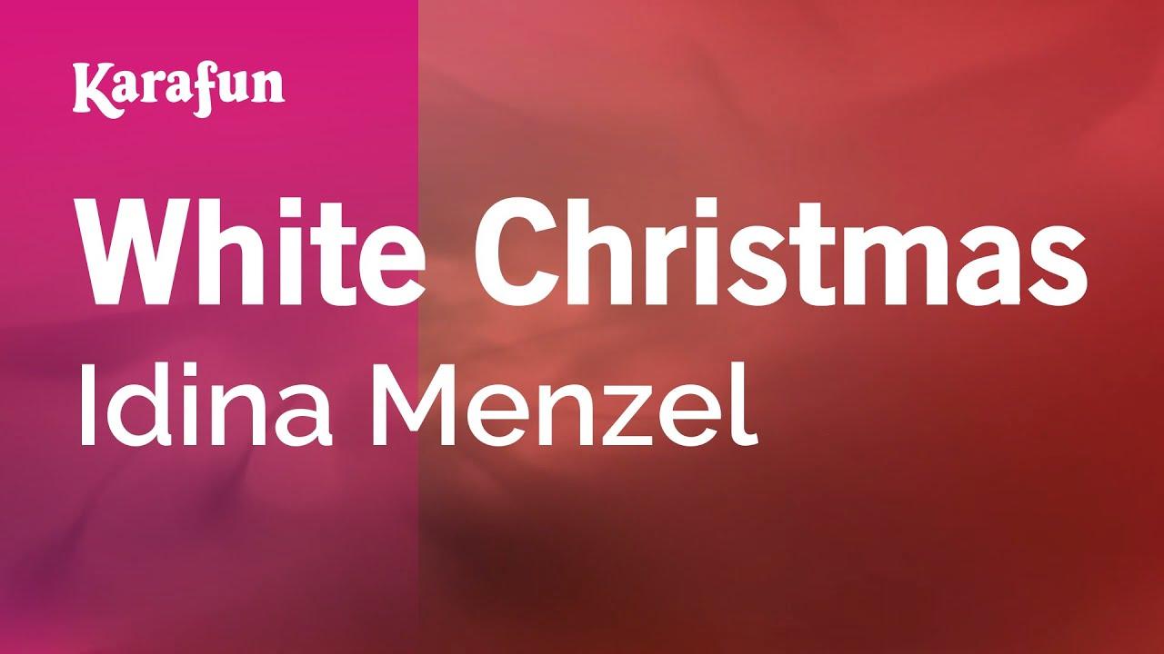 Karaoke White Christmas - Idina Menzel * - YouTube