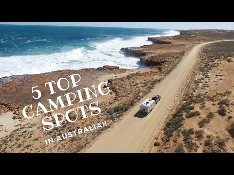 TOP 5 CAMPSITES IN AUSTRALIA