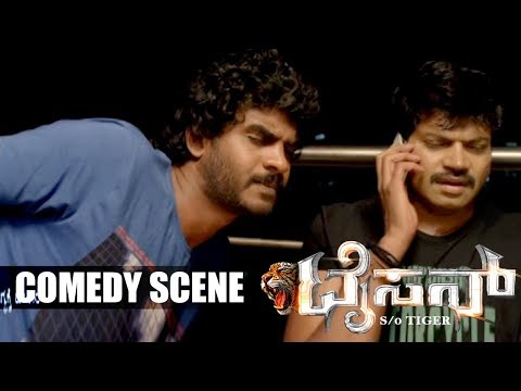 Chikkanna And Vinod Prabhakar Funny And Comedy Scenes Tyson Kannada Movie 6 CC