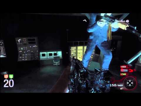Call of Duty: Black Ops Zombies - NEW Glitch / Nuevo Truco FIVE