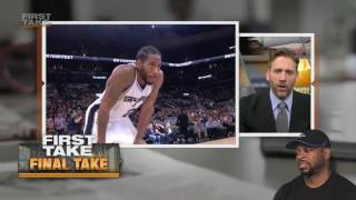 LeBron James Must Join Spurs To Beat Warriors | Final Take | First Take | REACTION