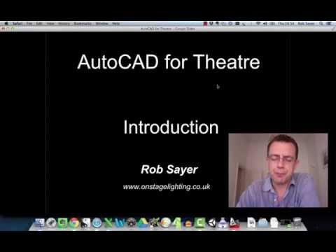 001 Free AutoCAD: Theatre Video Tutorials - Intro