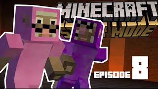 Pink Sheep and Purple Shep in Minecraft Story Mode ! EPISODE 8