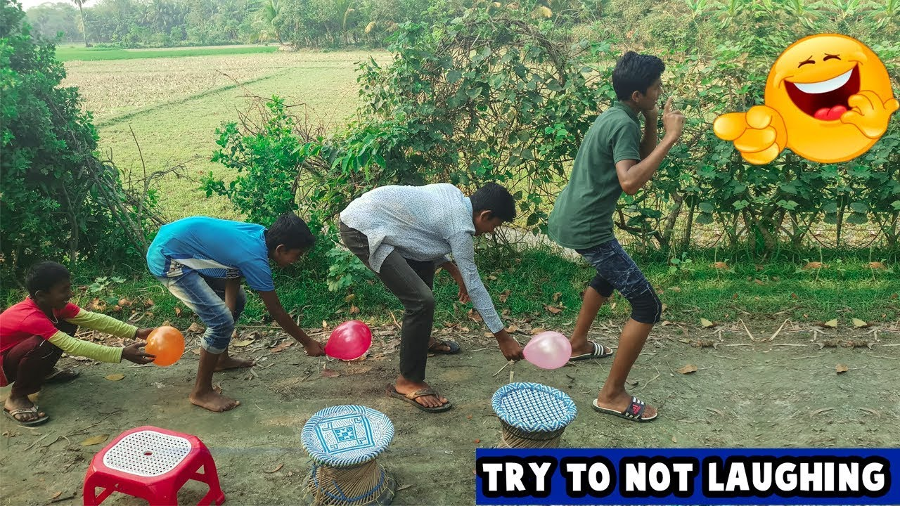 Must Watch New Funny 😂  Comedy Videos 2019 - Episode 7    Funny Village Boys