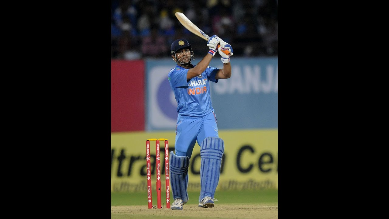 India Vs West Indies First Odi, Ms Dhoni Final Hit Highlightshd - Youtube-2882