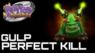Spyro 2 Ripto's Rage (Reignited) GULP FLAWLESS KILL (0 HITS)